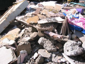 Mixed-Heavy Waste with Concrete