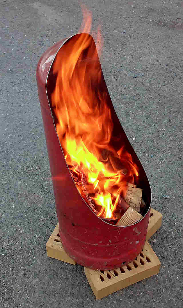 How To Make A Firepit From An Old Gas Bottle ⋆ Handycrowd Com