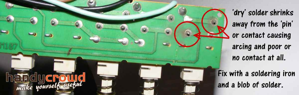 Easily Fix Dry Solder Joints On Printed Circuit Boards