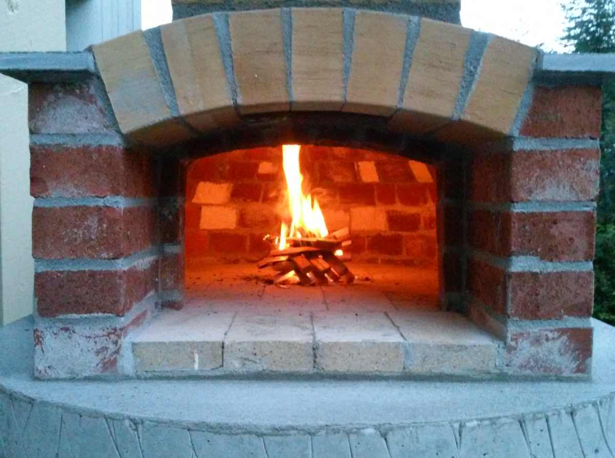 Build Small Wood Fired Pizza Oven 75cm 30 Quot Handycrowd Com