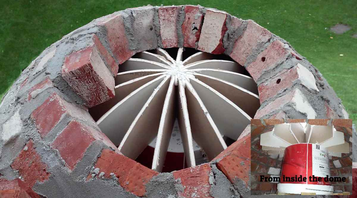 Build Small Wood Fired Pizza Oven 75cm Or 30 Quot Diameter