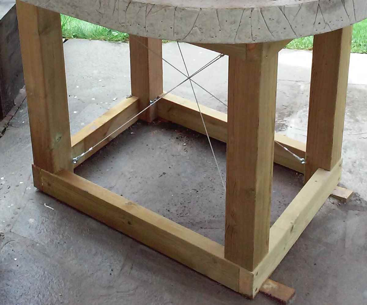 Mediterranean wood fired pizza oven - Wooden Frame For Pizza Oven
