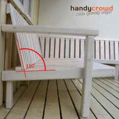 Chair Design Back Angle Wrought Iron Patio Glides Outdoor Sofa Made Out Of Pallet Wood Handycrowd