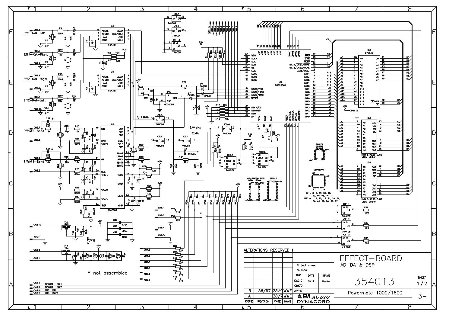 Free Download Dynacord Powermate 1000 Mk1 Service Manual