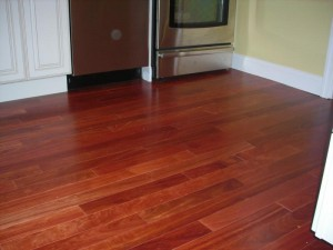 This unique, high quality, floor was installed by Handyguy Brian. Listen to the podcast for details.