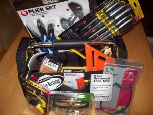 Win this toolkit. Click on the picture to learn how! Hint: ideal use of duct tape wins