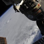 Hurricane Earl from the ISS