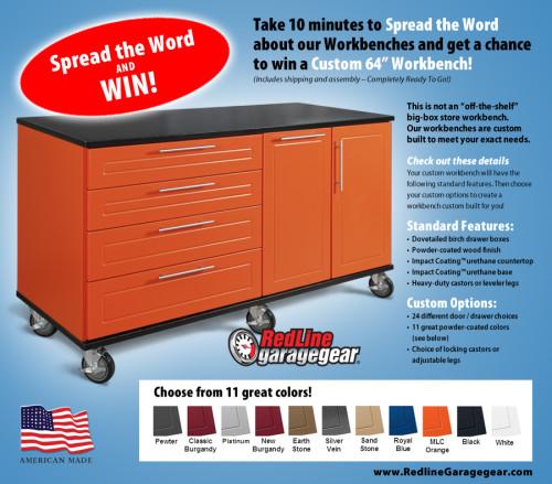 Redline Garage Gear Contest