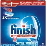 Finish Tabs dishwashing detergent
