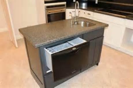 Kitchen Island Sink Dishwasher Design