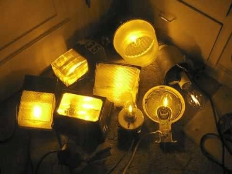 High-Pressure Sodium Light Fixtures