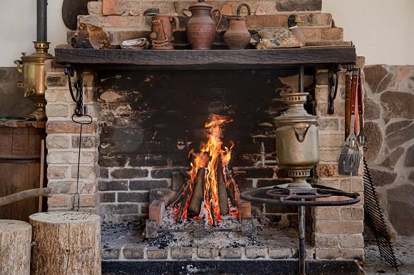 adding a fireplace