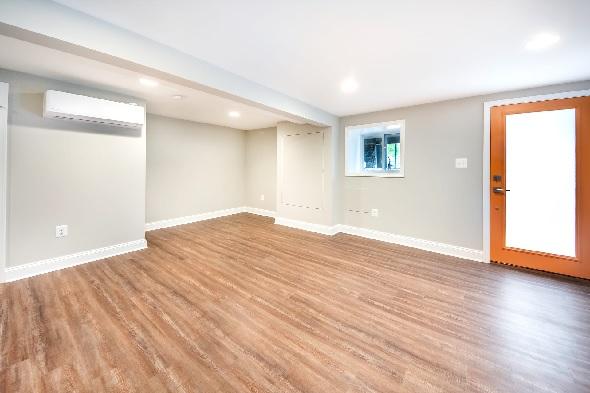 planning basement finishing