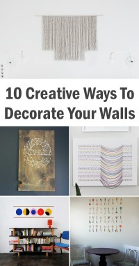 Ways To Decorate Your Walls | Design Ideas