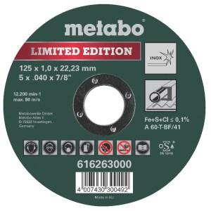 Lõikeketas metallile Metabo Special Edition II Inox 125mm