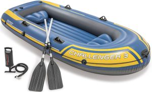 Täispuhutav paat Intex Challenger 3 SET