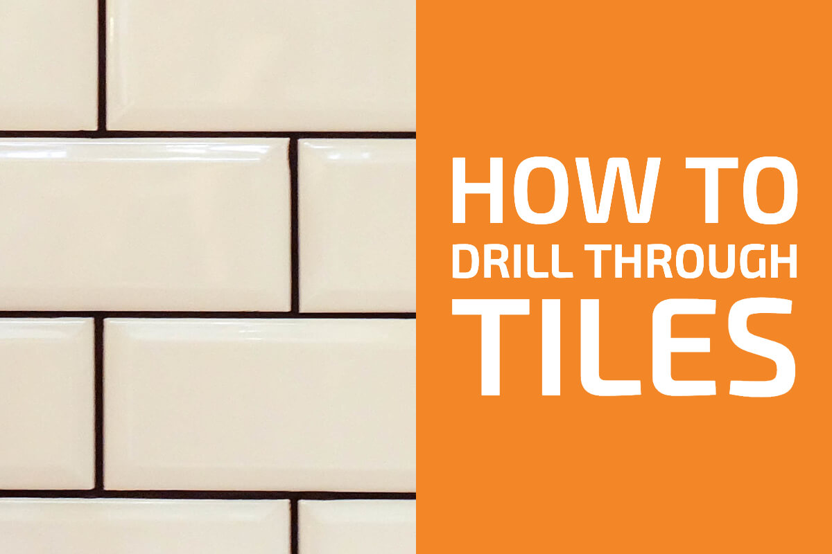 how to drill into ceramic and porcelain
