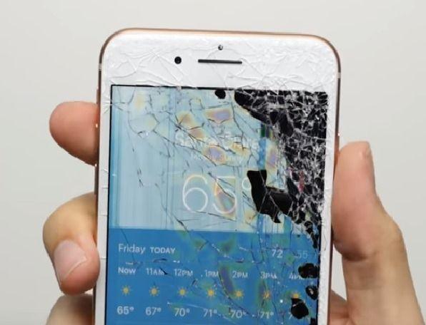 iPhone 8 Sturzschaden