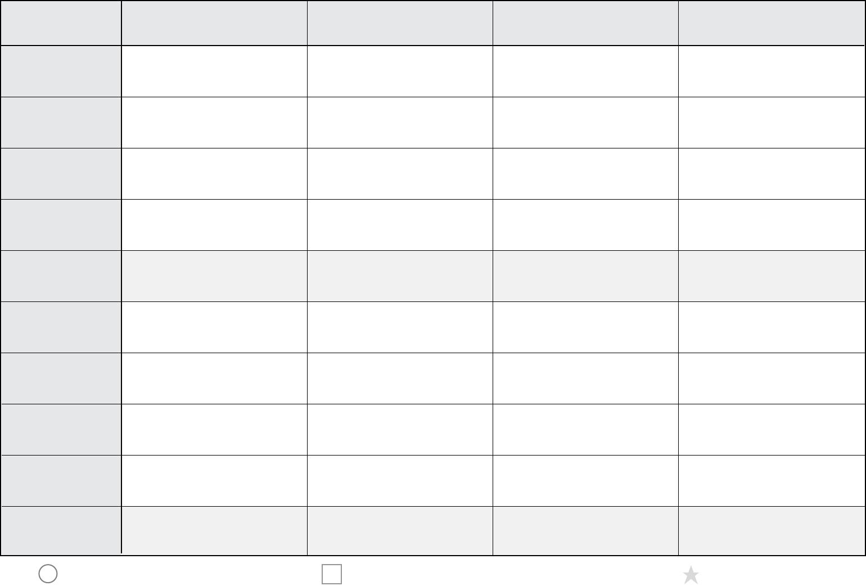 Printable Time Management Worksheets
