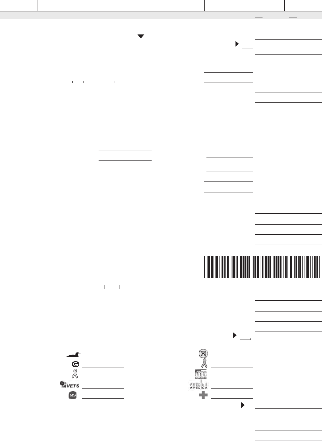 2011 Form 1 Wisconsin Income Tax (Pdf Fillable Format