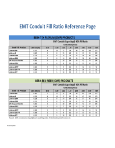 Emt conduit fill ratio reference template also chart fillable printable pdf  forms handypdf rh