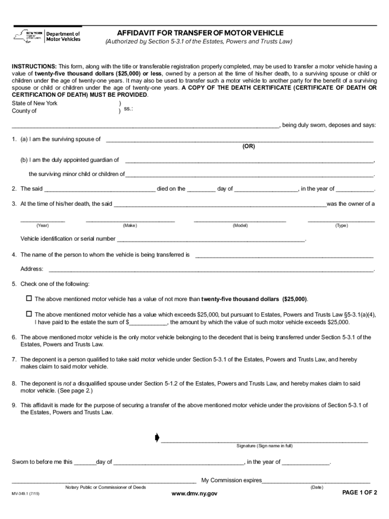 Form Mv 902 Application For Duplicate Title - Resume
