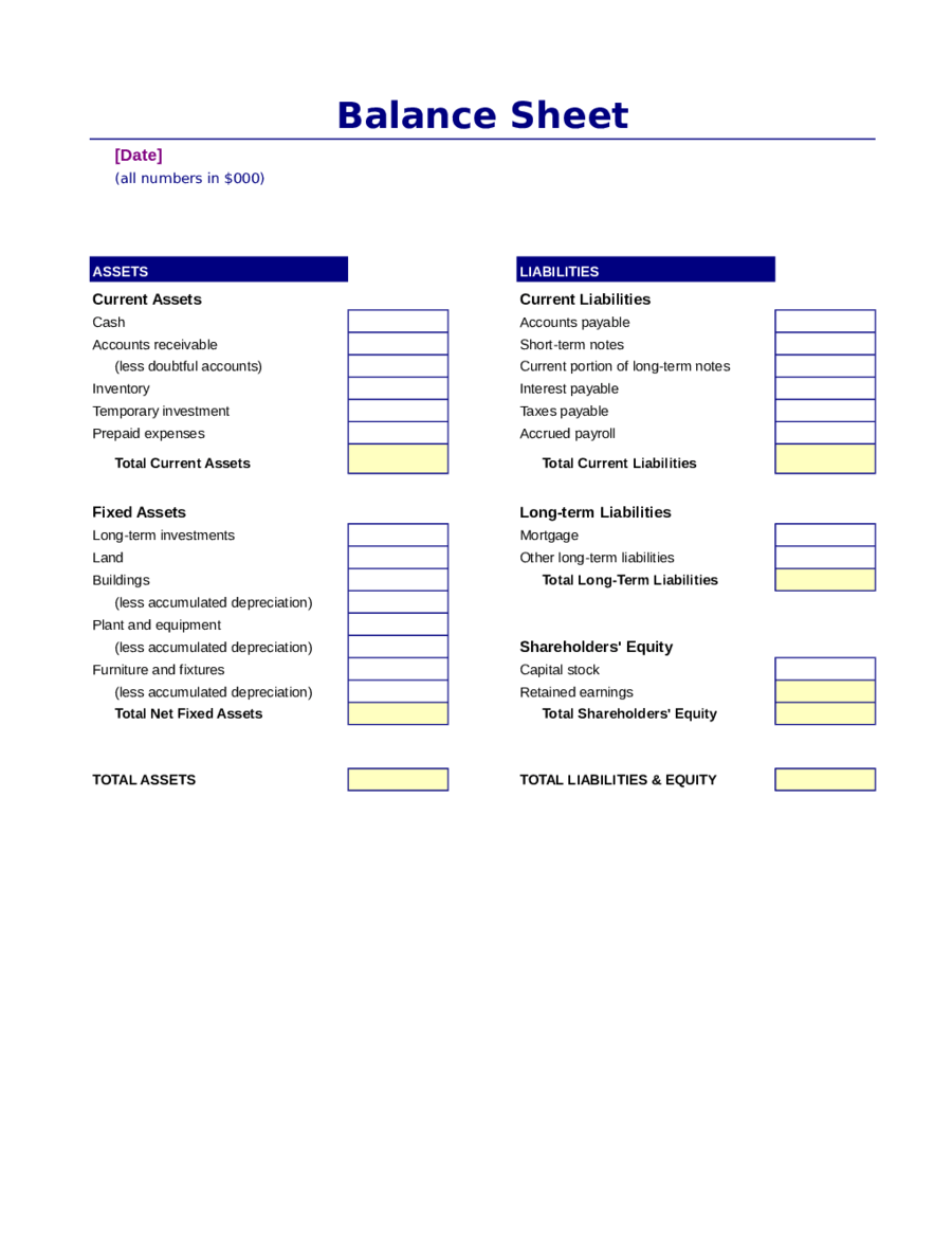 Income statement and balance sheet template income statement and 2018 balance sheet template altavistaventures Gallery