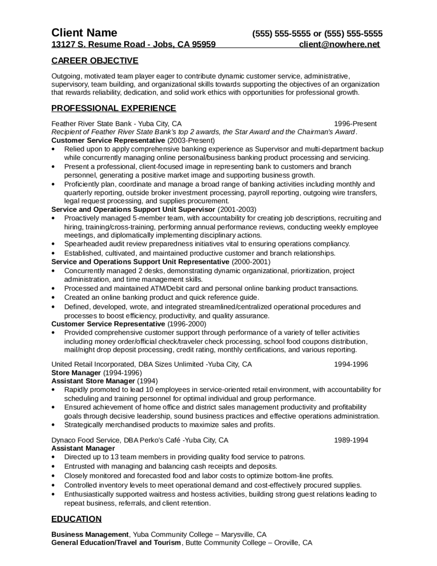 2017 Customer Service Resume Fillable Printable PDF & Forms
