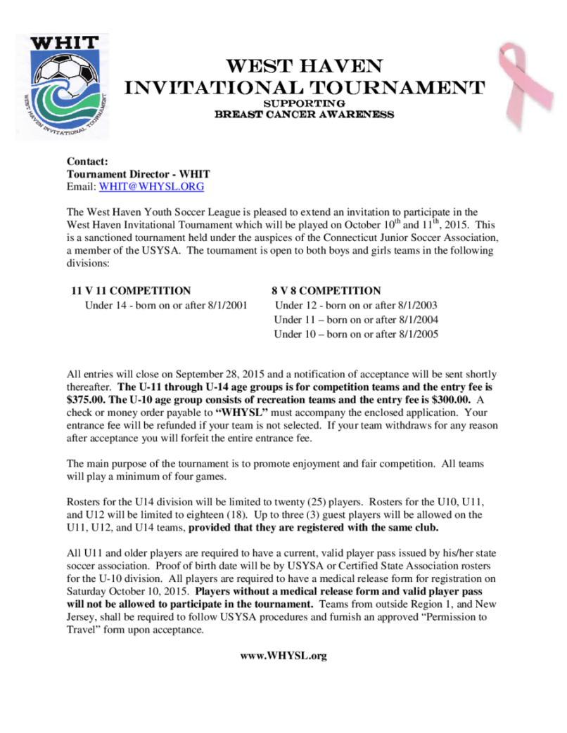 Tournament invitation letter inviview letter of invitation sample edit fill sign online handypdf stopboris Choice Image