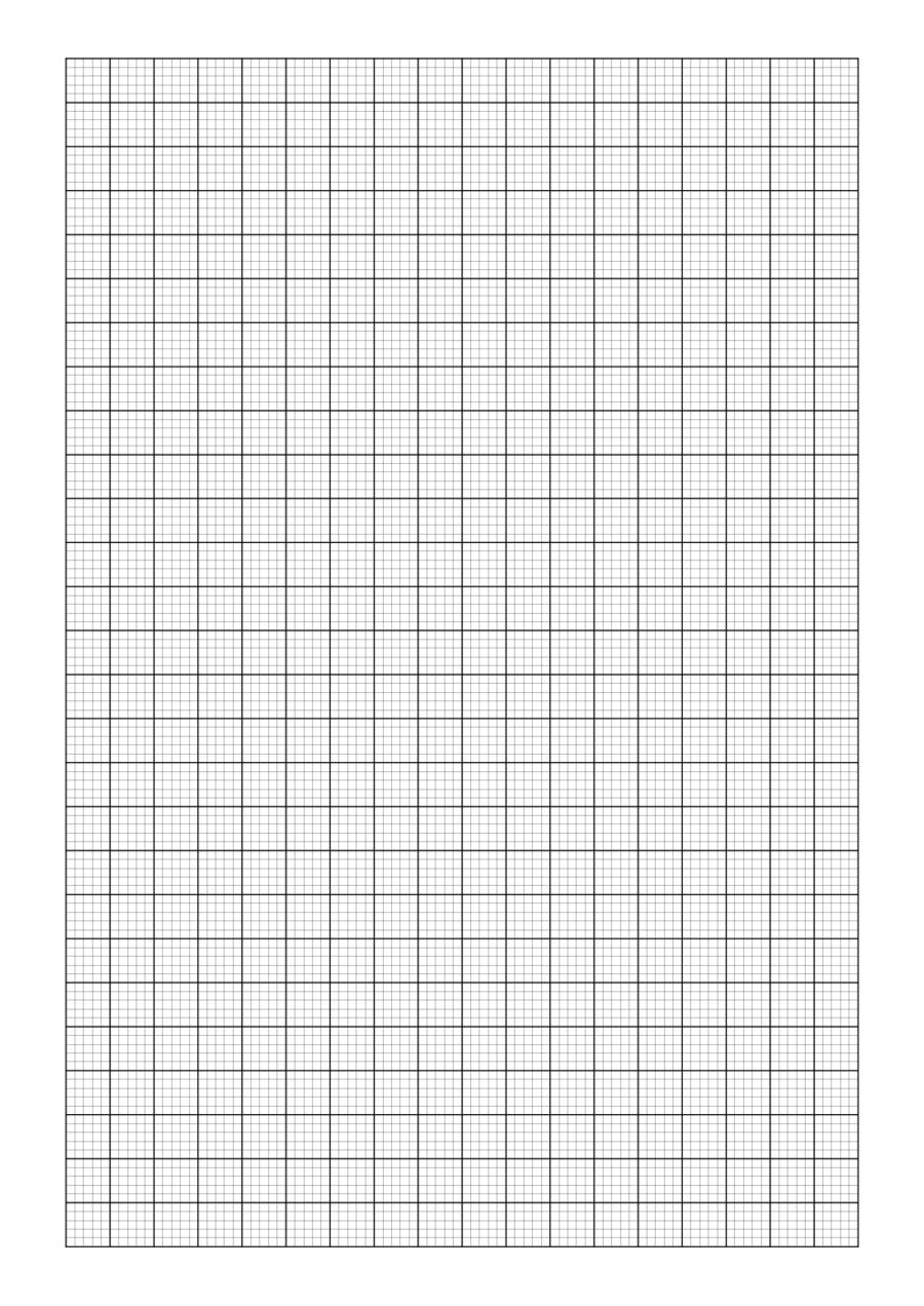 2018 Printable Graph Paper  Fillable, Printable Pdf & Forms  Handypdf