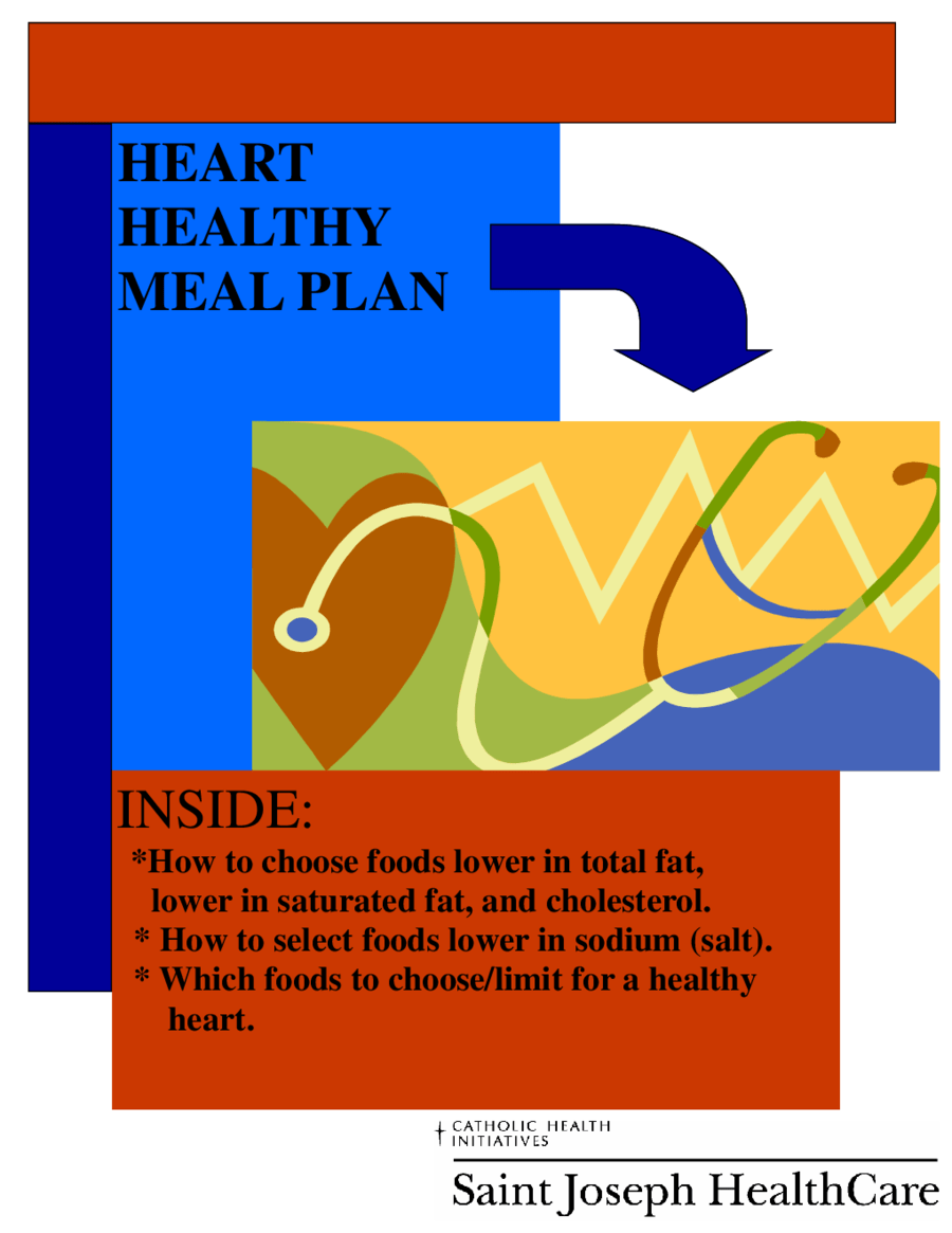 Healthy Meal Plans Sample