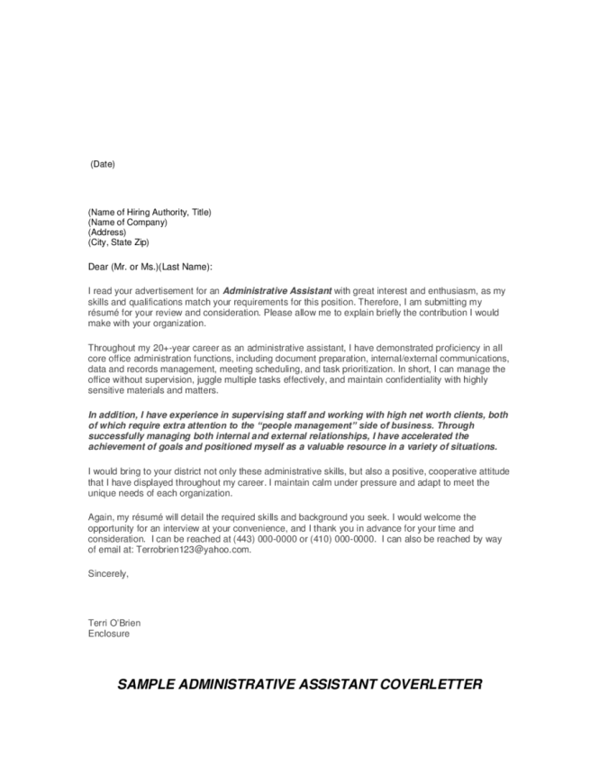 Addressing Cover Letter To Unknown The Sle