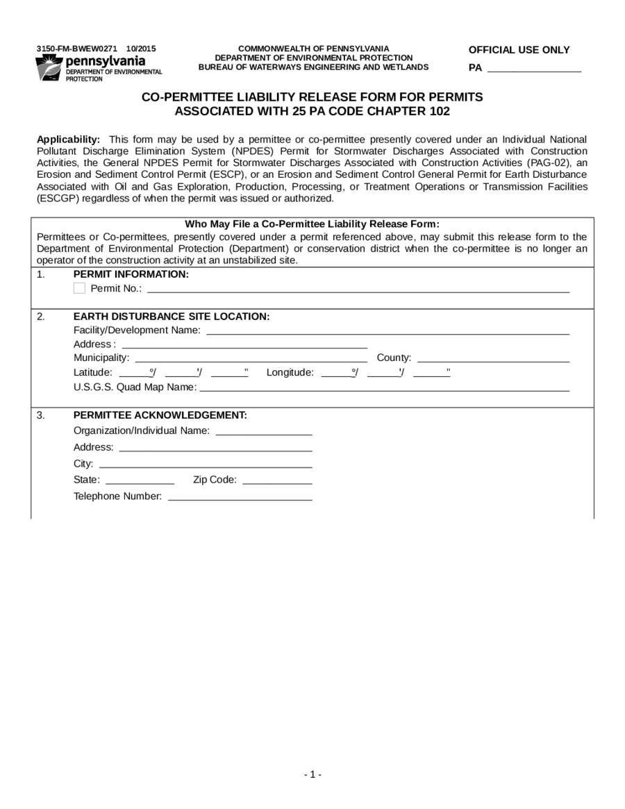 Release of Liability Form Template - Edit, Fill, Sign Online | Handypdf