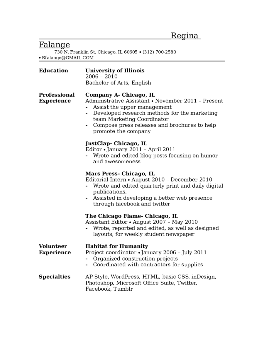 2017 Resume Objective Examples Fillable Printable PDF U0026 Forms  Resume Objective Examples For Students