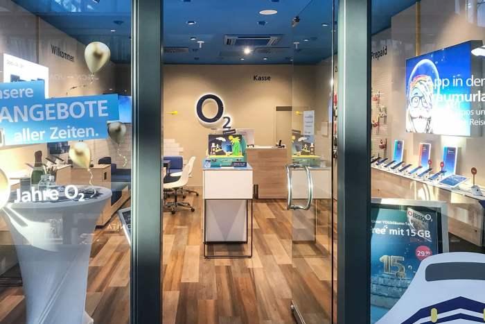 Handy Reparatur im o2 Shop Plauen Stadt Galerie