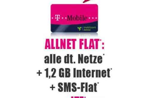 Special Allnet Promotion 1,2 GB + AllNet 19.90€ mtl