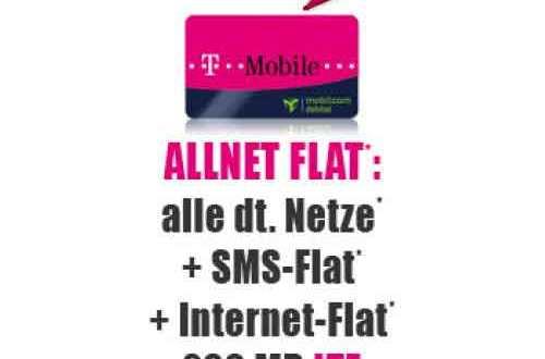 ALLNET-Flat inkl. SMS & LTE im Telekom-Netz - 9,90€