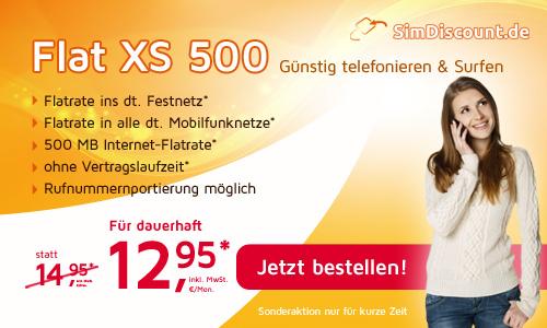 Handy Weekend Deal: AllNet Flat 12.95€ mtl