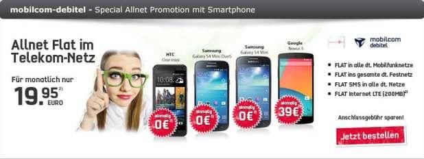 Telekom Special Allnet Promotion 19.95€ mtl