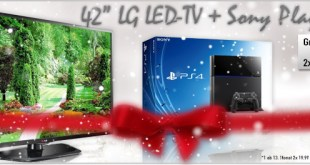 "42"" LED-TV LG + Sony PlayStation 4 nur 29.98€ mtl"