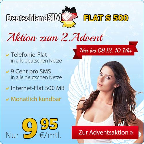 Telefonie-Flat und Internet ohne Laufzeit nur 9.95€ mtl