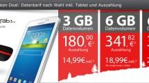 MobileInternet Flat inklusive Galaxy Tab und Auszahlung
