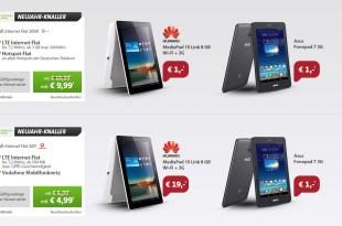 Asus Fonepad + Internet Flat nur 4.99€ mtl