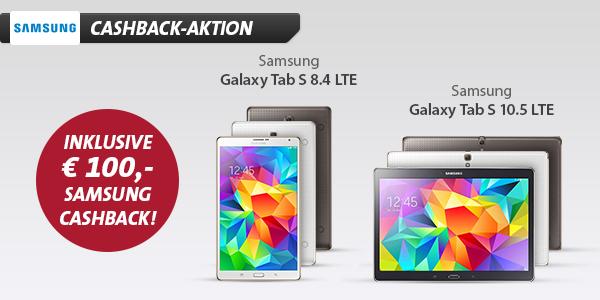 Samsung Galaxy Tab S 8.4 LTE + OTELO-Allnet-Flat XL