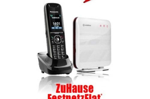 Vodafone ZuHause Festnetz Flat 4.95€ mtl