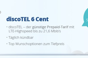 6 Cent pro Minute & SMS - 10 Euro Startguthaben