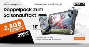 Samsung S7+ Samsung Tab E + 2,5GB + Allnet nur 29,99€ mtl.