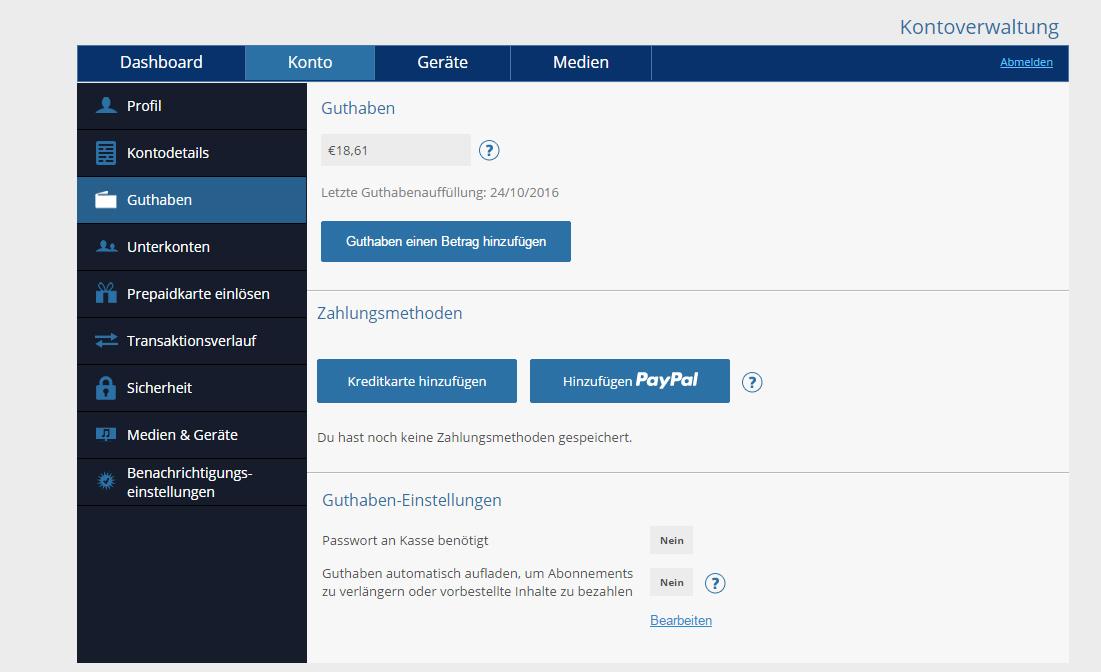Playstation Guthaben Online Aufladen