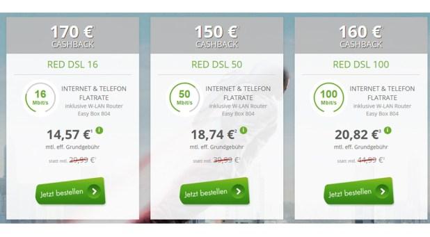 Vodafone DSL 50.000 nur effektive 18,74€ mtl.