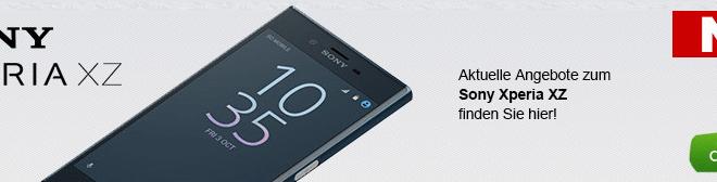 Sony Xperia XZ + Allnet + LTE + EU nur 39,99€ mtl.